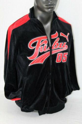 Risk Jacket Puma Track 01 high Black fubu 577091 Red Collaboration Puma qwrftZ0Wwx