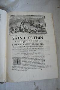 1695 Mémoires pour servir a l'histoire  Ecclésiastique Tome 3 Charles Robustel