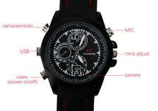 16GB Armbanduhr mit versteckte Mini Spion Video Kamera Spy hidden Cam Uhr - A15