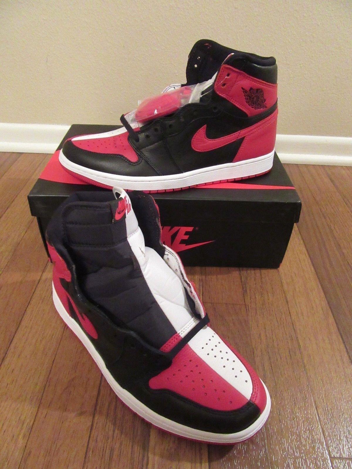 Nike Air Jordan NRG 1 retro High og NRG Jordan tamaño homenaje a casa 861428 061 DS New NIB 579b8e
