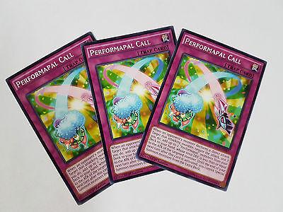 YU-GI-OH CARD SECE-EN067 PERFORMAPAL CALL