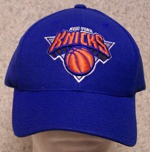 Embroidered Baseball Cap Sports NBA New York Knicks NEW 1 size fit ... 9e9cb2df7ab