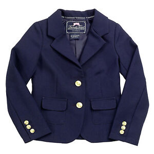 076746a12 Image is loading Girls-Navy-Blazer-Jacket-French-Toast-School-Uniform-