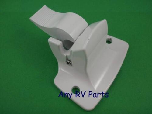 Dometic 3108221007B A/&E Awning Lower Wall White Bracket 3314067004B