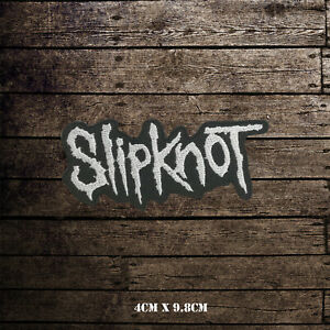 Slipknot-Metal-Music-Band-Logo-Embroidered-Patch-Iron-on-Sew-On-Badge