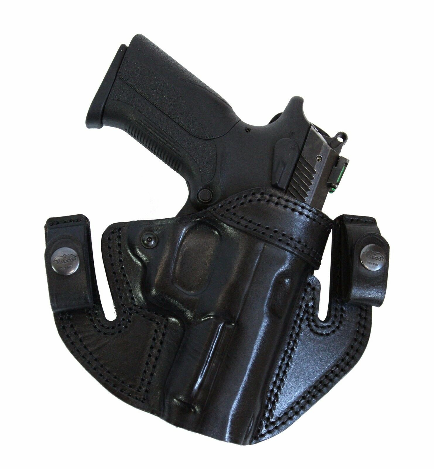Falco Holsters IWB   OWB Leather holster for Glock 26, 27, 33