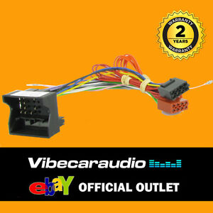 mercedes ml, slk, sprinter, car stereo radio wiring harness iso loomimage is loading mercedes ml slk sprinter car stereo radio wiring