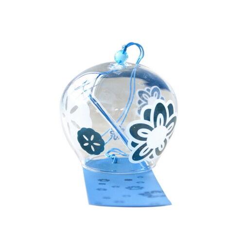 Japanese Handmade Ornament Wind Hanging Glass Bell Gift Door Decoration