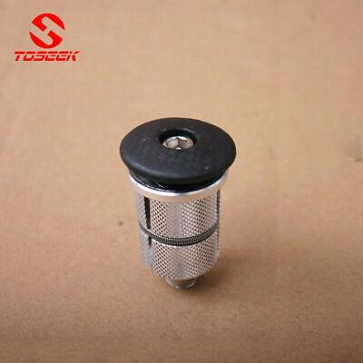 MTB Road Bike Stem Headset Carbon Fiber Top Cap /& Expander Plugs Compressor 1set