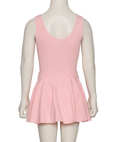 Femmes Filles Toutes Couleurs Coton Enfiler Danse Ballet Jupe kdskc 03 Par Katz