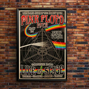 Pink-Floyd-Vintage-Music-Concert-Poster-Wall-Art-Print-Picture-Retro-A3-A4-5