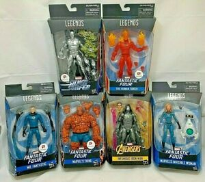 "Marvel Legends 6/"" Inch Walgreens Fantastic Four 4 Human Torch Loose Complete"