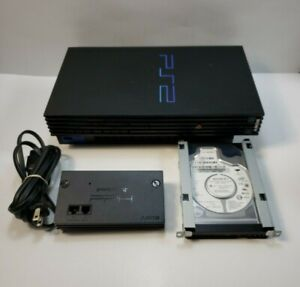 Playstation 2 Fat Console SCPH-39001 With 40GB Hard Drive [A63] TESTED
