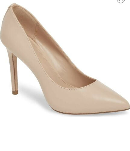 Taille Leather Bcbgeneration Us Pumps; 6m Nude Heidi qUfw6A