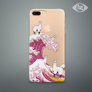 outlet store aad2e 34dc0 Details about Cute Llama Thin Rubber Silicone Case For Apple iPhone 5s 6 7  8 Plus X XS Max XR