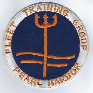 """from unit 1982 Fleet Training Group Pearl Harbor 3 1//2/"""" US Navy Unit Patch"""