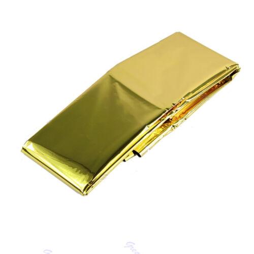 New Golden Waterproof Blanket Survival Foil Thermal First Aid Ten xeCWUKji