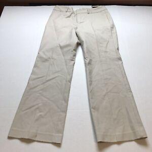 Banana-Republic-Jackson-Fit-Trouser-Leg-Tan-Pants-Size-10S-10-Short-A300