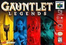 GAUNTLET LEGENDS NINTENDO 64 N64 GAME GAME ONLY
