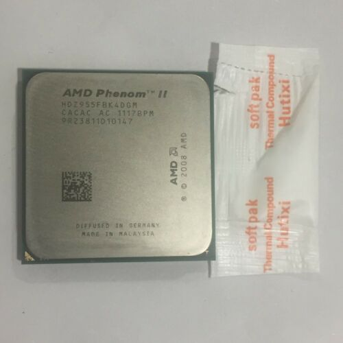 CPU HDZ955FBK4DGM AMD Phenom II X4 955 3.2 GHz Quad-Core 6M Processor AM3 AM2