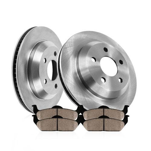 Rear Brake Rotors Ceramic Pads For 2011 2012 2013 Durango Jeep Grand Cherokee
