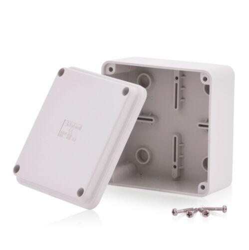 Industriegehäuse Abzweigdose Verteilerkasten 100x100x50mm Schaltschrank JS7600