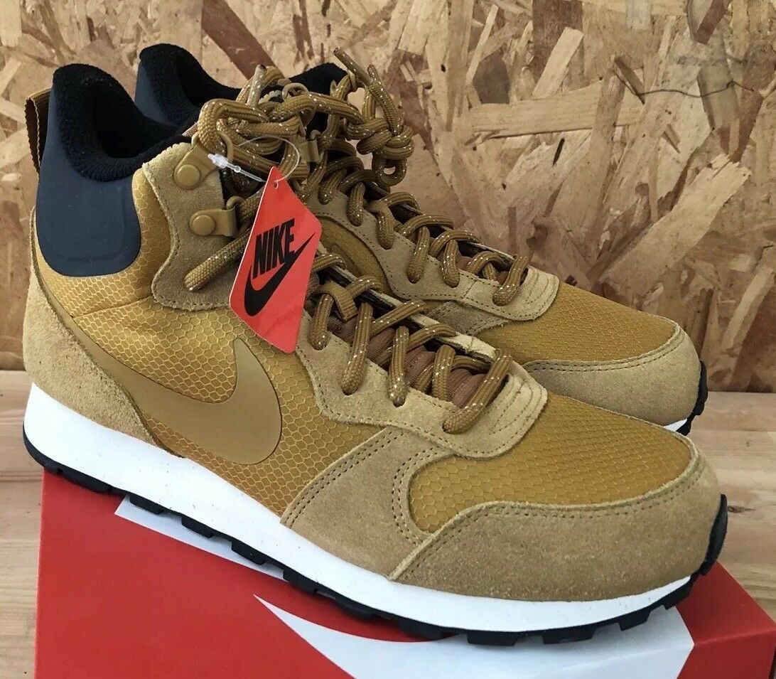 Nike MD Runner 2 Mid PREM Wheat Sail Black Sz 11 NIB 844864-700