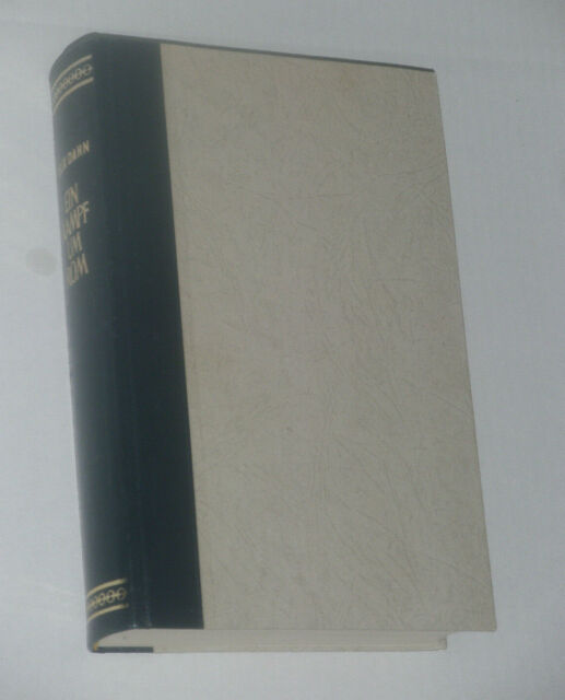 Ein Kampf um Rom*Felix DAHN* Historischer Roman*Halbleder Einband*Bong Verlag