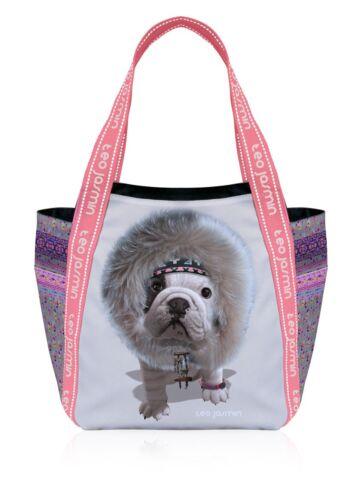 Teo Jasmin French British English Bulldog Large Tote Handbag Shopper Inuit