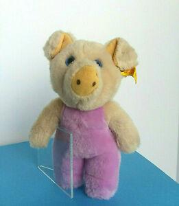 Vintage-German-Steiff-Toldi-Pig-1980-039-s