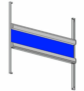 ROLLO-JSR-Glasleistenrollo-Scheibenrollo-Verdunkelung-Klebemontage-ohne-Bohren