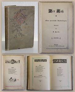 Haeck-Der-Kuss-Eine-poetische-Anthologie-um-1900-Liebesgedichte-Dichtkunst-xz