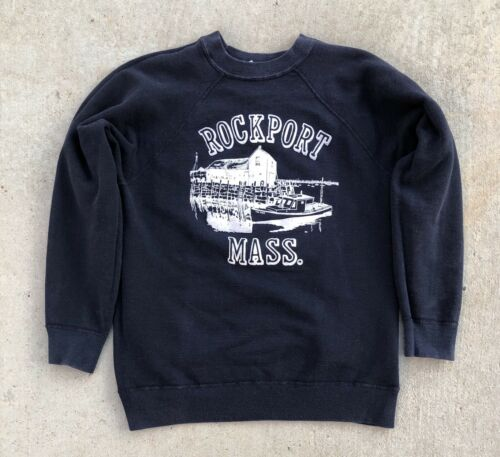 Vintage 60s Rockport Massachusetts Sweatshirt vtg