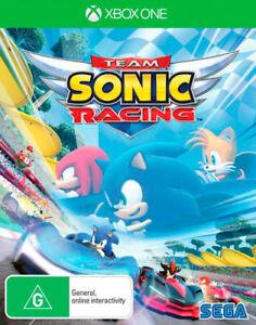 Team Sonic Racing Xbox One Microsoft Xb1 X Sonic The Hedgehog Party Racing Game Ebay