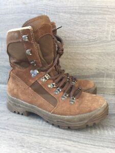 groothandel online beste online delicate kleuren Details about British Army Issue Meindl Desert Fox Brown Leather Combat  Boots Size 4M