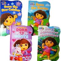 Dora The Explorer Baby Toddler Board Books - Set Of Four, New, Free Shipping