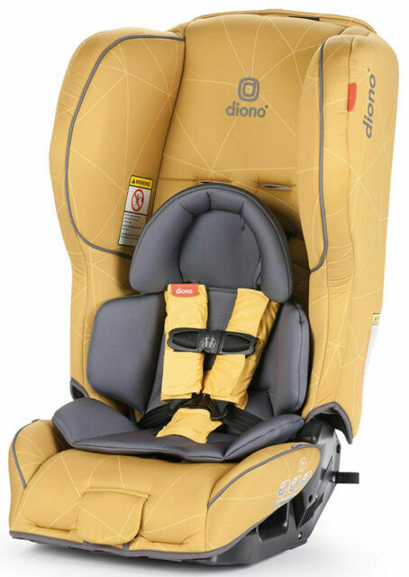 Yellow Diono Rainier 2AX Convertible Car Seat
