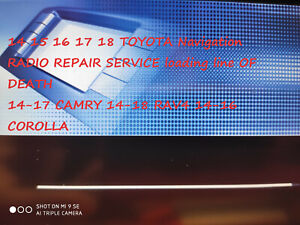 Detalles acerca de Servicio de reparación de radio reiniciar Fix Toyota  RAV4 GPS Navegación Entune Premium- mostrar título original