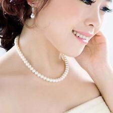 Vintage Pearl Necklace Imitation Fashion Accessories Wedding Bridal Gift UK