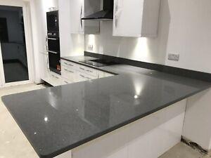 Dark Grey Worktops Quartz Worktops Granite Worktops All Colours