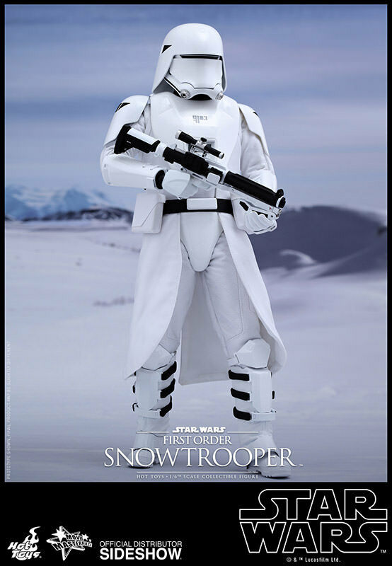 Star Wars - Mms321 First Order Snowtrooper Action Figure Sideshow 1 6 NEU (L)