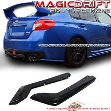 Made for 2015-2016 Subaru Impreza WRX Sti OE Style Rear Spat Valance Lip Poly BK