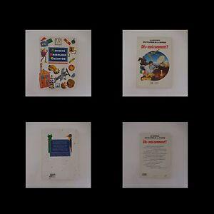 2-Libros-Actividades-DIY-Creation-Abc-Fleurus-Dime-Como-Hachette