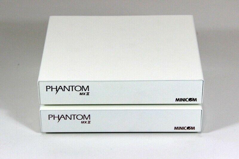MiniCom KVM Server-Management System Phantom MXII RS232 + Mxii Ps/2