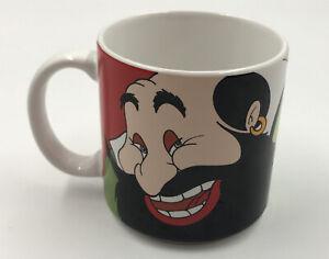 Disney-Pinocchio-Coffee-Mug-Stromboli-amp-Honest-John-Fox-vintage-Japan-70-039-s