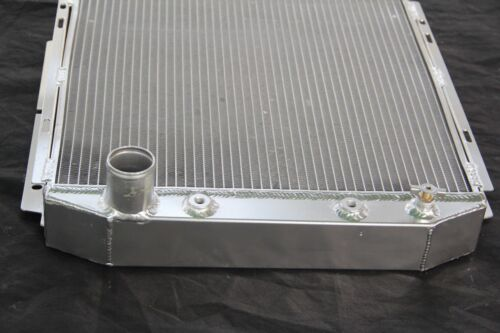 falcon 1960-1966 Ford mustang 3 rows all aluminum radiator for comet