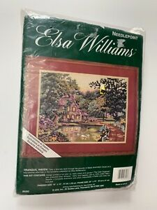 ELSA-WILLIAMS-NEEDLEPOINT-KIT-TRANQUIL-NIGHT-MADE-IN-USA-NEW-SEALED