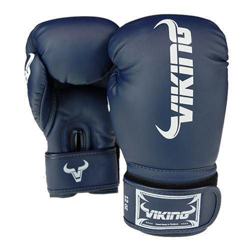 Viking Taboo Boxing Gloves - Navy Blue/White