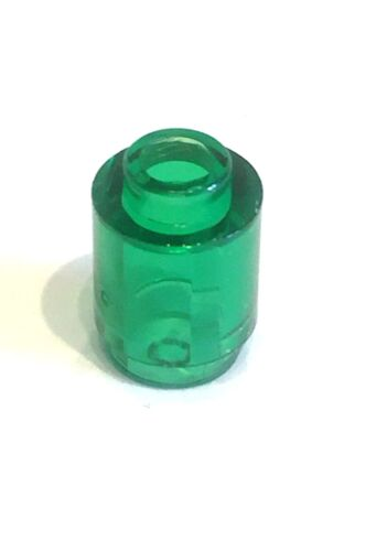 Pack of 10 3062B LEGO Plate 1 X 1 Round Trans Green