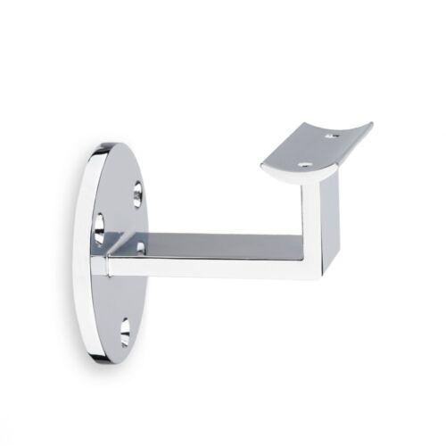 Handlaufhalter Edelstahloptik mit Schraubloch